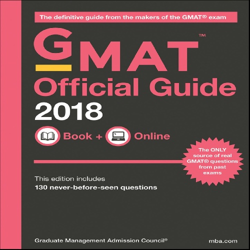 کتاب GMAT Official Guide 2018