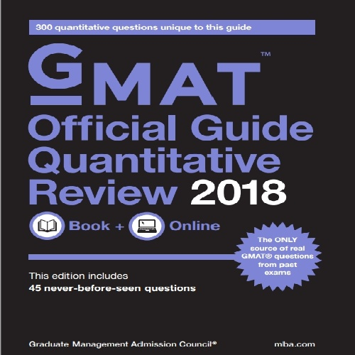 کتاب GMAT Official Guide 2018 Quantitative Review