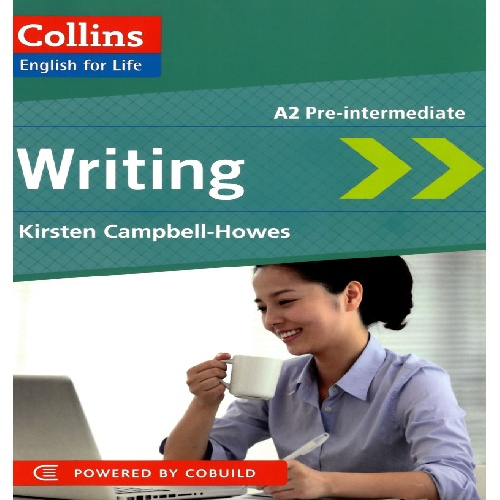 کتاب Collins English for Life - Writing سطح A2 Pre-Intermediate