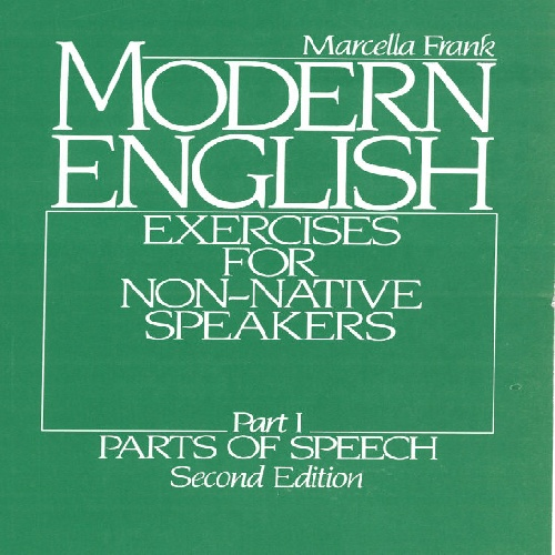کتاب Modern English-Exercises for Non-Native Speakers-Part 1-Parts of Speech - ویرایش دوم