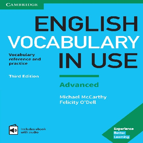 کتاب Cambridge English Vocabulary in Use سطح Advanced - ویرایش سوم (2017)