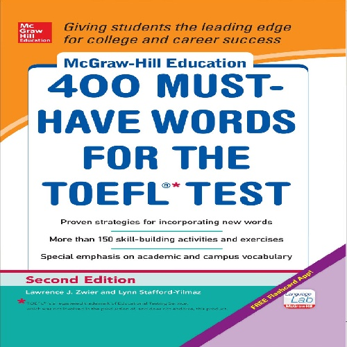 کتاب 400 Must-Have Words for the TOEFL Test - ویرایش دوم