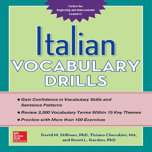 کتاب Italian Vocabulary Drills سال انتشار (2015)